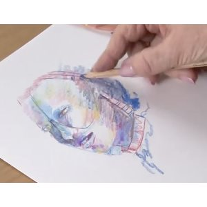 Academy Watercolour Pencil Tips