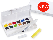 Inktense Paint Pan Set