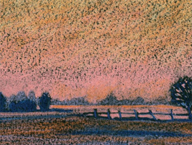 Coloursoft: evening landscape project