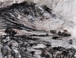 Newlands Valley mixed media