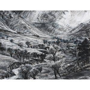 Winterlicht - Newlands Valley