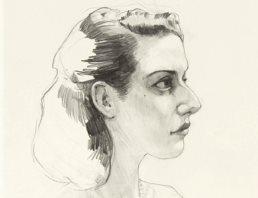 Das Porträt der Frau durch Jake Spicer