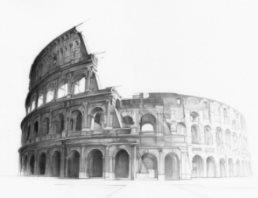 Colosseum door Alexis Marcou