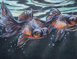 Goldfish by Lisa Lachri