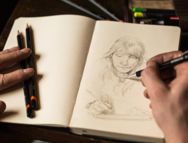 Derwent Drawing Portraits Step by Step