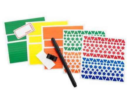 Pens & Stickers Kit