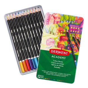 Academy Pencils, Pastels & Paints