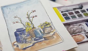 Graphitint Still-Life Paint-a-Long