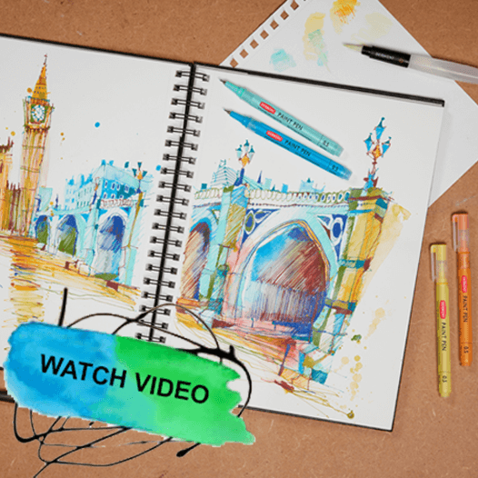 Derwent Paint Pens Video